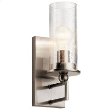 Kayde 1 Light Wall Sconce Classic Pewter