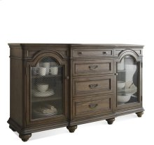 Belmeade Server Old World Oak finish