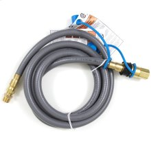 1/2 Inch Natural Gas Hose with Quick Disconnect