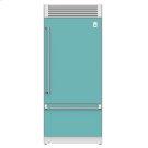 KRPR36_36_Bottom-Mount-Refrigerator_Top-Compressor_Pro_RightHand(BoraBora) Product Image