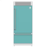 "Hestan36"" Pro Style Bottom Mount, Top Compressor Refrigerator - KRP Series - Bora-bora"