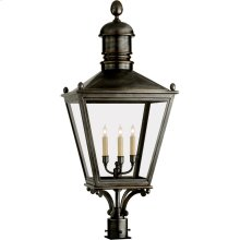 Visual Comfort CHO7033BZ E. F. Chapman Sussex 3 Light 38 inch Bronze Outdoor Post Lantern