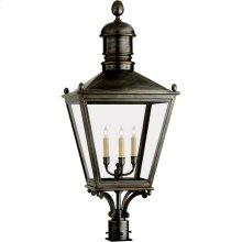 Visual Comfort CHO7033BZ E. F. Chapman Sussex 3 Light 38 inch Bronze Outdoor Post Lantern
