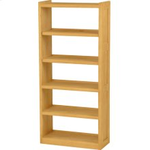 Open Back Bookcase