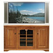 """Thin 55"""" Tall Entertainment Console"""
