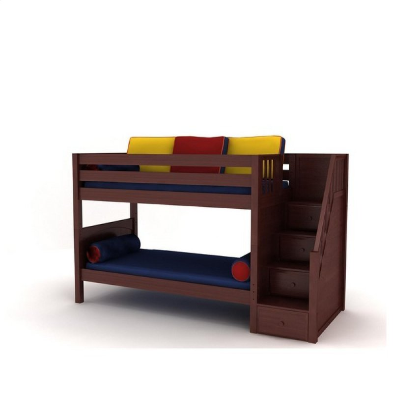 Stackercp In By Maxtrix In Morgantown Wv Low Bunk Bed With