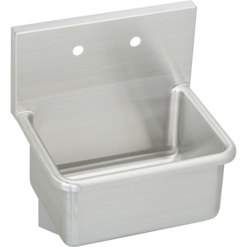 """Elkay Stainless Steel 25"""" x 19-1/2"""" x 12, Wall Hung Service Sink"""