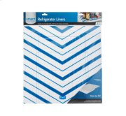 Trim-to-Fit Refrigerator Liner, Blue Chevron 2 Pack Product Image