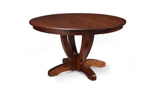 Brookfield Single Pedestal Table, 2 Leaf
