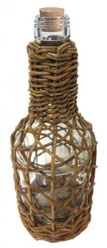 Bottles In Willow Basket