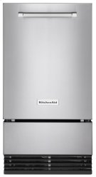 18'' Automatic Ice Maker with PrintShield Finish - PrintShield Stainless Product Image