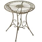 Verdigris Fleur de Lis Medallion Table Product Image