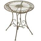Verdigris Fleur de Lis Medallion Table Product Image