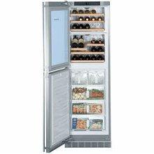 "24"" 2 Temp. Zone Wine Cabinet & Freezer"