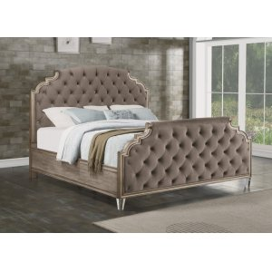 FLEXSTEELVogue Queen Fully Upholstered Bed