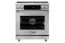 """30"""" Heritage Dual Fuel Pro Range, Stainless Steel, Natural Gas"""