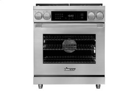 "30"" Heritage Dual Fuel Pro Range, Silver Stainless Steel, Liquid Propane"