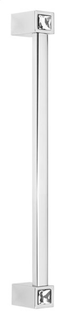 Contemporary Crystal Appliance Pull CD718-8 - Polished Chrome Product Image