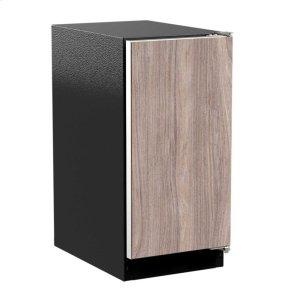 "Marvel15"" ADA Height Clear Ice Machine with Arctic Illuminice Lighting - Gravity Drain - Panel-Ready Solid Overlay Door, Right Hinge*"