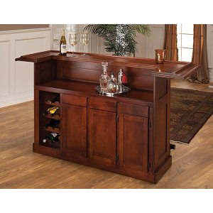 Hillsdale FurnitureClassic Brown Cherry Large Bar Top