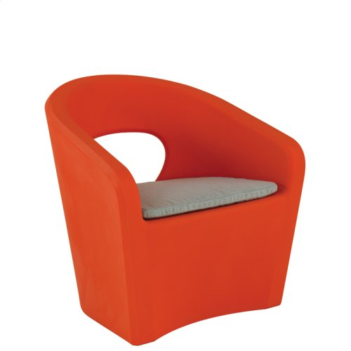 Radius Lounge Chair with Seat Pad & Weight