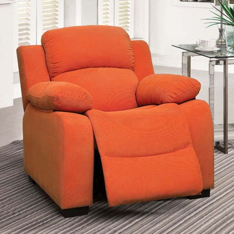 Magnificent Cm6007Or In By Furniture Of America In Southaven Ms Short Links Chair Design For Home Short Linksinfo