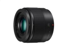LUMIX G Lens, 25mm, F1.7 ASPH., Micro Four Thirds - H-H025K