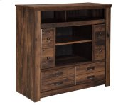Media Chest w/Fireplace Option Product Image