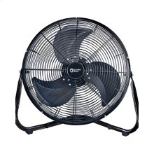 CZHV18B 18-inch High Velocity Cradle Floor Fan, Black