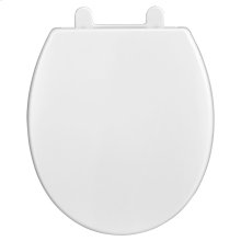 Telescoping Round Front Luxury Toilet Seat  American Standard - White