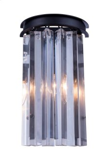 1208 Sydney Collection Wall Lamp Mocha Brown Finish