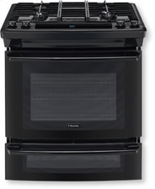 "30"" Dual-Fuel Built-In Range with Wave-Touch® Controls"