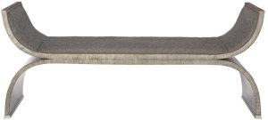 Colton Bench in Rustic Gray