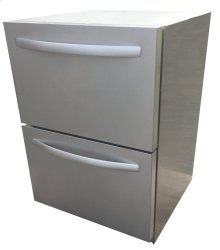 UL Rated Double Drawer Refrigerator - REFR4