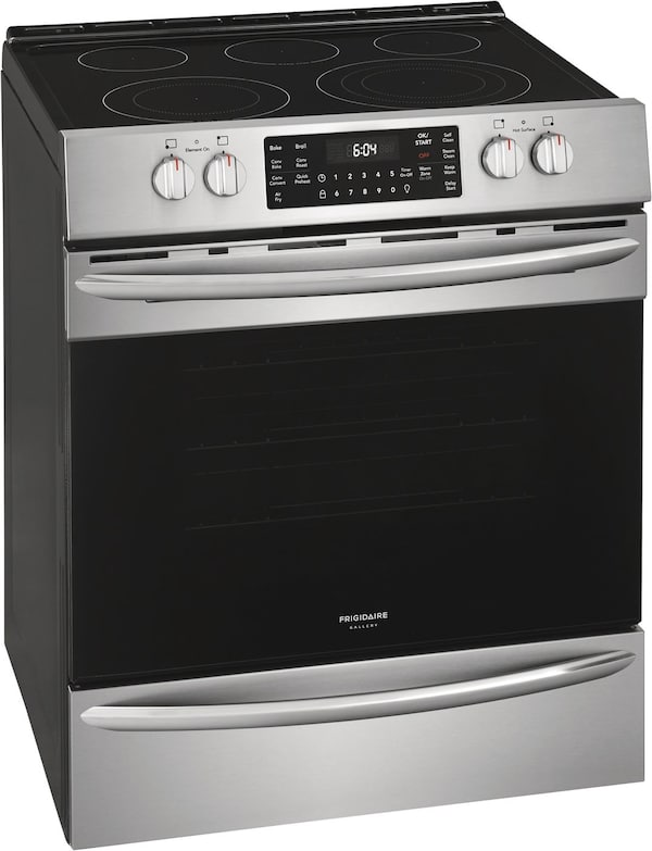 Frigidaire Gallery Gallery 30'' Front Control Electric Range With Air Fry