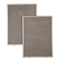 "Aluminum Replacement Grease Filter with Antimicrobial Protection for 42"" QP1 Series"