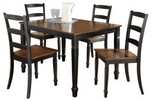 Rect Table/ Chairs (RTA)(5/Ctn)