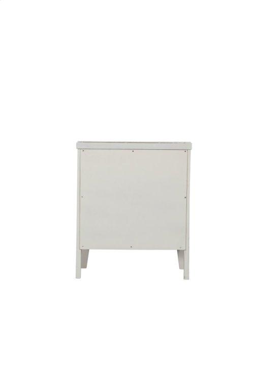 Emerald Home Home Decor 2 Drawer Nightstand-white B371-04wht