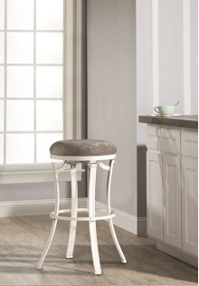 Kelford Backless Counter Stool - White