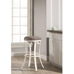 Hillsdale FurnitureKelford Backless Counter Stool - White