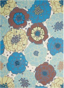 Home & Garden Rs021 Ltb Rectangle Rug 5'3'' X 7'5''