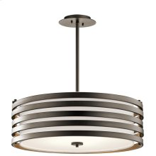 Roswell Collection Roswell 4 Light Pendant in Olde Bronze