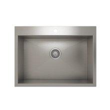 ProInox H0 Single Bowl Topmount Kitchen Sink ProInox H0 18-gauge Stainless Steel, 25'' x 16'' x 9''