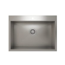 ProInox H0 Single Bowl Topmount Kitchen Sink ProInox H0 18-gauge Stainless Steel, 25'' x 16'' x 9''