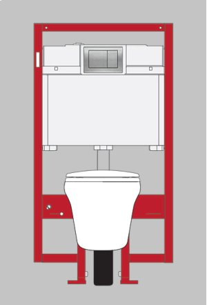 Cotton Maris® Wall-Hung Toilet & In-Wall Tank System - 1.6 GPF / 0.9 GPF