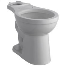 White Round Front Bowl