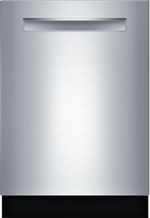 """24"""" Pocket Handle Dishwasher 800 Series- Stainless steel SHP68TL5UC"""