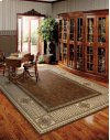 VALLENCIERRE VA27 BRN RECTANGLE RUG 27'' x 18''