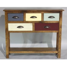 """#582 Canyon Console Table 42""""wx10.5""""dx36""""h"""