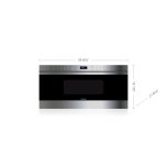 """Wolf 30"""" Transitional Drawer Microwave"""